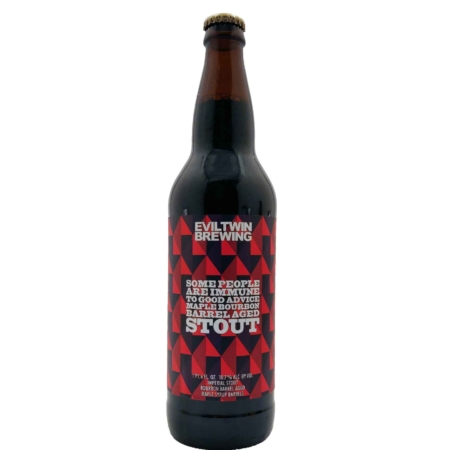 Some People Are Immune To Good Advice Maple Bourbon Barrel Aged Imperial Stout Evil Twin Brewing