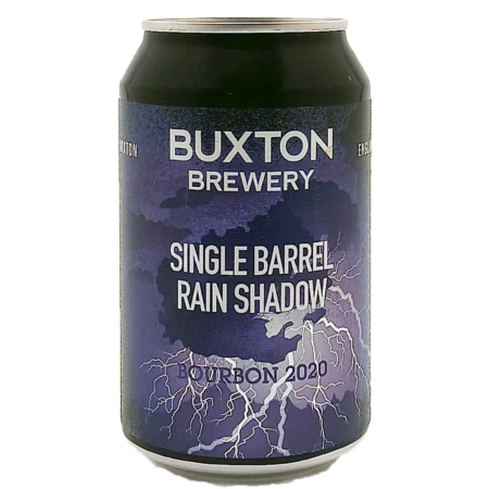 Single Barrel Rain Shadow Bourbon 2020 Buxton Brewery