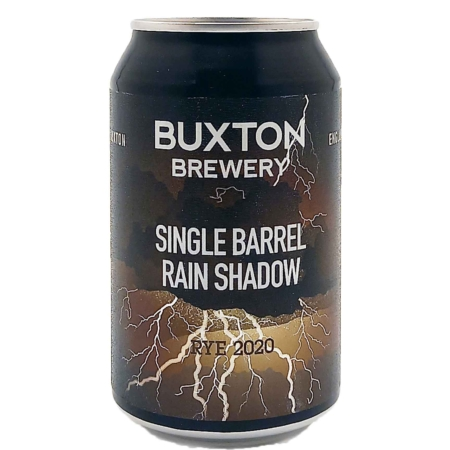 Single Barrel Rain Shadow Rye 2020 Buxton Brewery