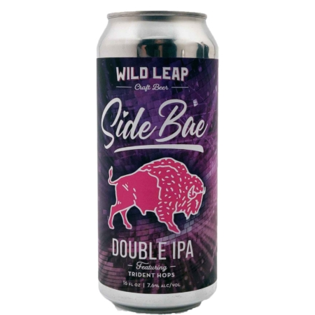 Side Bae Trident Double IPA Wild Leap Brew Co.