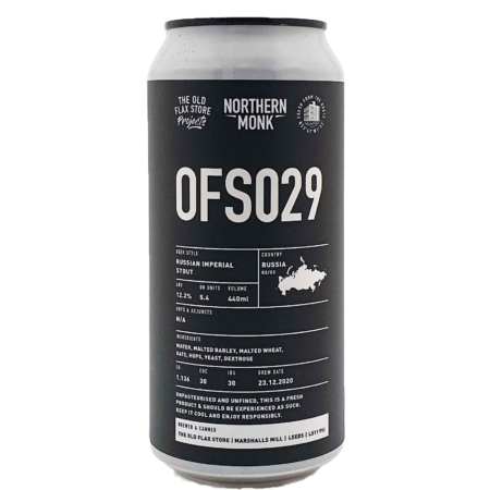 OFS029 // RUSSIAN IMPERIAL STOUT Northern Monk