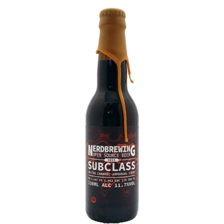 Subclass Salted Caramel Imperial Stout Nerdbrewing