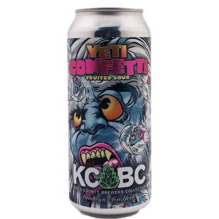 Yeti Confetti KCBC - Kings County Brewers Collective
