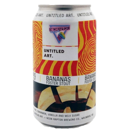 Bananas Foster Stout Untitled Art