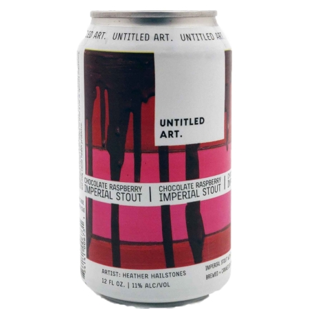 Chocolate Raspberry Imperial Stout Untitled Art