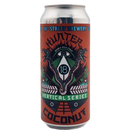 Hunter Coconut 18th Street Brewery