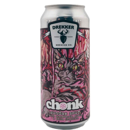 CHONK Strawberry, Guava, & White Chocolate Drekker Brewing Company