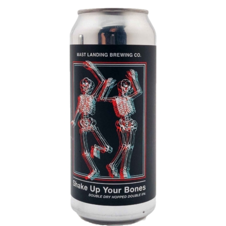 Shake Up Your Bones Mast Landing Brewing Co.