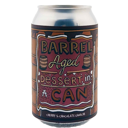 Barrel Aged Dessert In A Can - Cherry & Chocolate Ganache Amundsen Brewery