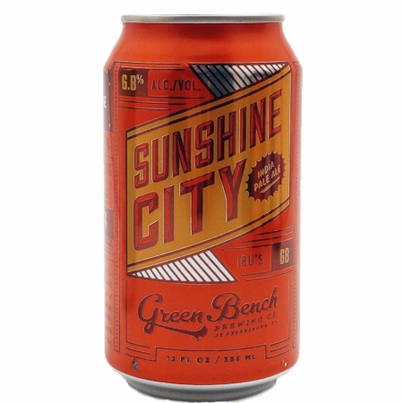 Sunshine City IPA Green Bench Brewing Co