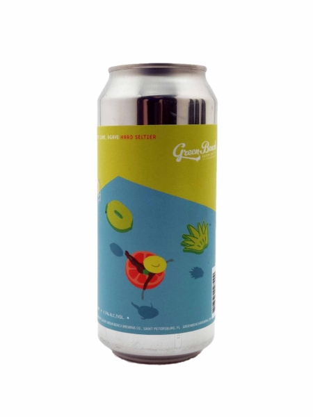 Grapefruit, Lime, Agave Hard Seltzer Green Bench Brewing Co