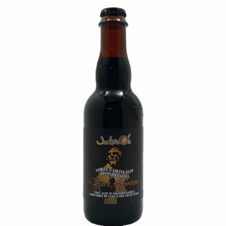 Vanilla & Coffee Bean Bourbon Barrel Dark Apparition Jackie O's Brewery