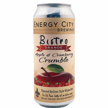 Bistro Grande Apple & Cranberry Crumble Energy City Brewing