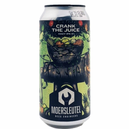 Crank the Juice Moersleutel Craft Brewery