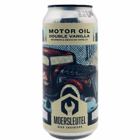 Motor Oil Double Vanilla Moersleutel Craft Brewery