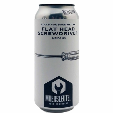 Flat Head Screwdriver Moersleutel Craft Brewery