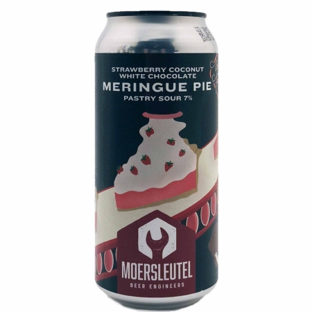 Strawberry Coconut White Chocolate Meringue Pie Moersleutel Craft Brewery