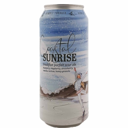 Coastal Sunrise (v3) Blueberry, Raspberry, Strawberry, Vanilla, Lactose, Honey Granola Humble Forager Brewery