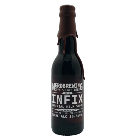 Infix Imperial Milk Stout - Hazelnut Macchiato Edition (2021) Nerdbrewing